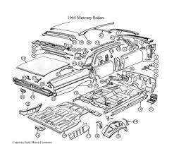 sectioning 2010 11 chevrolet equinox gmc terrain body shop 2010 11 chevrolet equinox gmc terrain older vehicles like this 1964 mercury sedan had subassemblies where the entire side of the