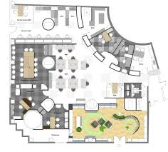 design an office layout. office space layout design and an i