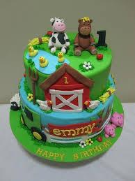 Animal Jam Birthday Cake Ideas Adorable Farm For A Special Little