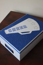 Cheer Box Designs Choose One Of Our Two Designs The Sparkly Megaphone Or The