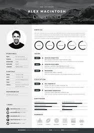 Best Professional Resumes 20 Best Resume Templates Web Graphic Design Bashooka