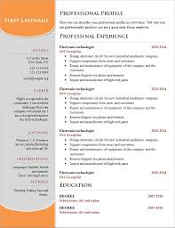 Basic Resume Templates Digital Art Gallery Professional Design ...