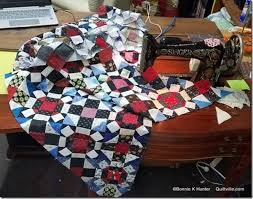 186 best Bonnie Hunter images on Pinterest | Bonnie hunter ... & Quilt-Cam, The Morning After! Block QuiltBonnie HunterThe ... Adamdwight.com