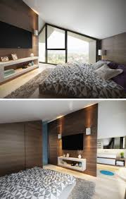 Schlafzimmer Mit Dachschräge Grau Weiß Und Akzente In Türkis