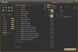 Crafting Guide For Ffxiv A Realm Reborn Final Fantasy Xiv