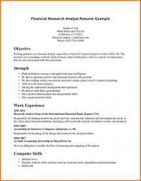 analyst resume picture examples resume sample and template examples analyst resume