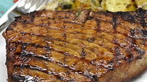 photo of marinated tuna steak by linkyj