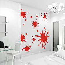 Small Picture Paint Splatter Wall Art Decals