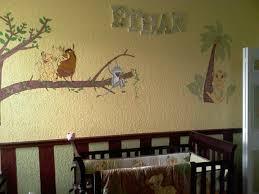 lion king nursery wall