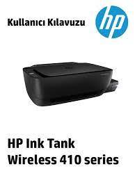 HP Ink Tank Wireless 412, Ink Tank Wireless 418, Ink Tank Wireless 410, Ink  Tank Wireless 419, Ink Tank Wireless 411, Ink Tank Wireless 416, Ink Tank  Wireless 415 User's Guide