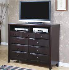 coaster phoenix contemporary tv dresser