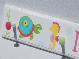 Personalized Coat Rack For Kids 100 Personalized Coat Rack for Kids with Ocean Animals 76