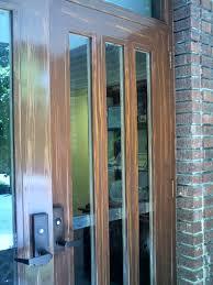 right exterior door before final clear coat