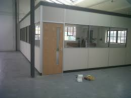 Image Sliding Doors Suspended Ceiling Used To Install Office Partition In Warehouse Lk Goodwin Office Partitions Interiors Upvc Windows And Doors Fr Interiors