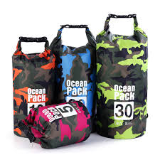 1PC 2/5/10/20/30L <b>PVC Camouflage Waterproof Dry Bag Camo</b> ...