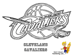 basketball teams logos coloring pages cavaliers coloring pages and golden state warriors fleasondogs org