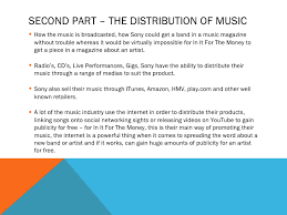 music industry essay plan 5