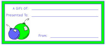 Printable Christmas Certificates Printable Gift Certificate Flower Bouquet Gift Certificate Card 54