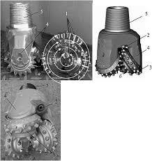 Бурение сплошным забоем Бурение скважин 4 Шарошечно цепные долота предназначены для бурения глубоких скважин и представляют собой целые породоразрушающие агрегаты оснащенные значительным