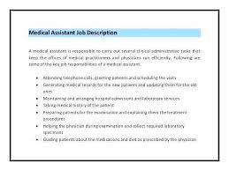 Medical Assistant Job Duties Resume Interesting Medical Assistant Job Description Resume Luxury 48 Inspirational