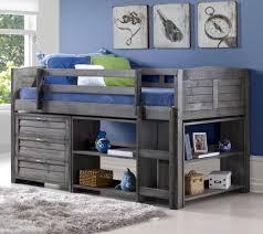 Twin Louver Modular Loft Bed Set-B — QVC.com