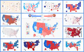 Election Maps Visualizing 2020 U.S. Presidential Electoral Vote Results