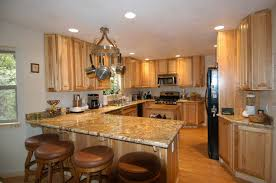 photos of hickory kitchen cabinets with granite countertops home design ideas that awesome