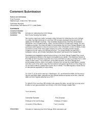Scholars For Defending The Arctic Refuge Cover Letter