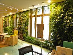 informal green wall indoors. Beautiful-cozy-informal-office-interior-design-with-vertical-indoor -gardens-decorating-ideas-vertical-garden -between-window-design-ideas-as-an-inspirational.jpg Informal Green Wall Indoors
