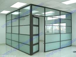 glass partition walls for office space divider wall best use frosted stripes to office glass partition walls