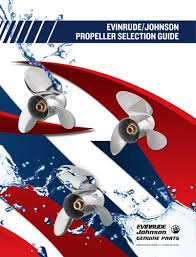 Johnson Evinrude Prop Chart Propeller Selection Evinrude Pdf Catalogs