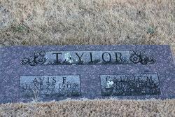 Avis Franklin Taylor (1903-1960) - Find A Grave Memorial