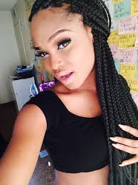 Hairstyles For Braids 20 Wonderful 24 Best BOx Braids Images On Pinterest Protective Hairstyles