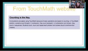 What Is Fluency My Thoughts On Touchmath The Recovering