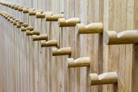 Carabiner Coat Rack Wooden coat rack stock image Image of wood background 100 83