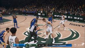 NBA Live 19 - Milwaukee Bucks vs Golden State Warriors - Gameplay (HD)  [1080p60FPS] - YouTube