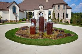 Circular Driveway Home Design Ideas Pictures Remodel And Decor Within Circular  Driveway Landscaping Ideas >> source circular driveway landscaping ideas  for ...