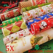 5pcs gift wrapping paper festival gift wrap artware ng craft package paper