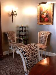 attractive design ideas animal print dining chairs jand home developer room photo photos of leopard