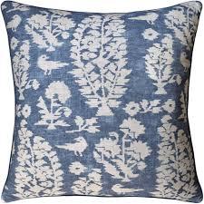 slate blue pillows. Brilliant Slate Allaire Slate Blue Decorative Pillow  Fig Linens Pillows Throughout G