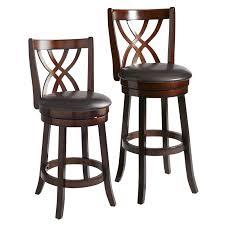 holbrook brown swivel bar counter stool bar stools counter pier 1