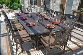 decoration stunning 8 person outdoor dining table amalia 8 person luxury cast in 8 person