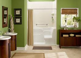 Plain Green And Brown Bathroom Color Ideas P On Decorating