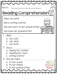 Literacy Worksheet For Kindergarten May Reading Comprehension ...