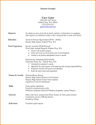 Medical Field Resume Templates Hospital Chef Sample Resume