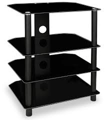 tv component stand. Plain Component Amazoncom MountIt AV Component Media Stand Glass Shelves Audio Video  Components Storage For Xbox Playstation Speakers Cable Boxes  To Tv Stand M