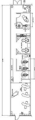 Salon Floor Plan Design Layout  696 Square Feet  Interiors Floor Plans For Salons