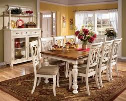 country style kitchen furniture. White Dining Table Plan Including Country Style Kitchen And Chairs Home Designing Furniture N