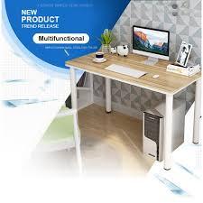 home office desktop 1. 120B-1 Simple Modern Wooden Desktop Laptop Desk Home Office Table Study (120cm X 60cm 1