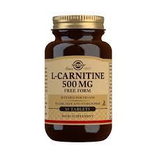 <b>L</b>-<b>Carnitine 500 mg</b> Tablets - Solgar